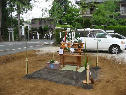 地鎮祭・祭壇